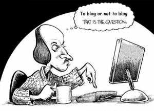 Blogging reason