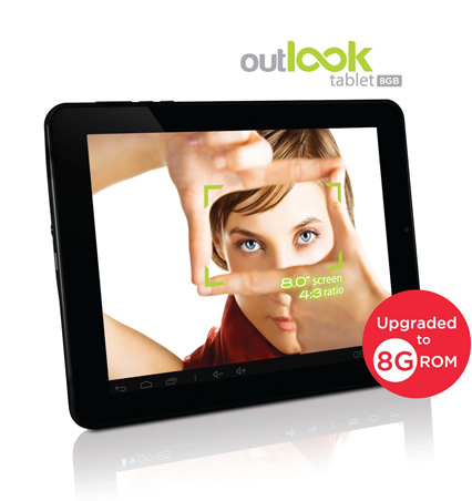 Outlook Tablet - (RRP) RM699